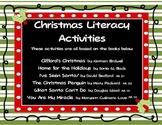 Christmas Literacy Activites AR levels 1.2 - 2.1