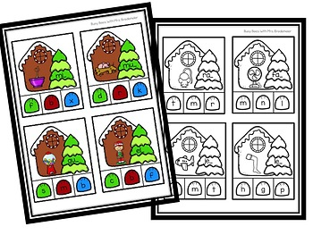 Christmas Literacy Activities Bundle