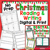 Christmas ELA Activities - Grades 3 - 5