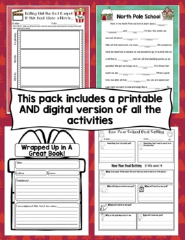 Christmas Activities 3rd - 5th: No-Prep Christmas Reading and Writing Activities
