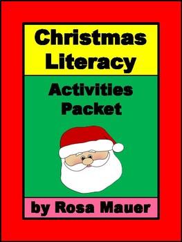 Christmas Literacy Activities Packet