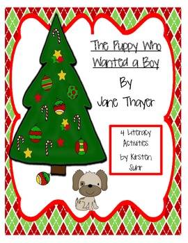 Christmas Literacy Activities (The Puppy Who Wanted a Boy)