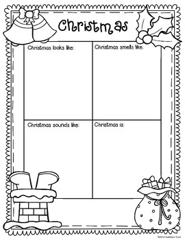 Christmas Literacy Activities and Printables
