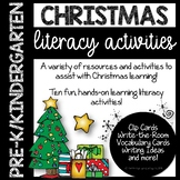 Christmas Literacy Activities for a Play-Based Classroom