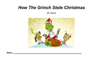 Christmas Literacy Activity