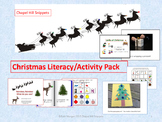 Christmas Literacy/Activity Pack---Special education/Speech