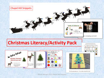 Christmas Literacy/Activity Pack---Great for EC/SLP collaboration