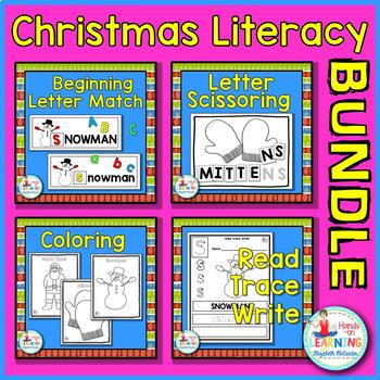 Christmas Literacy BUNDLE 1 - Includes 4 Christmas Literac