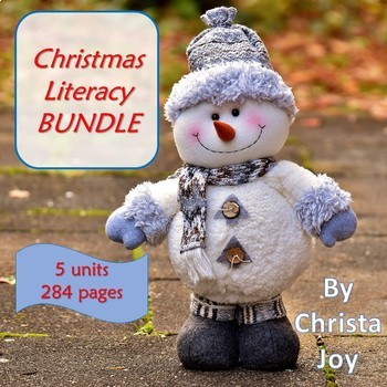 Christmas Literacy Bundle for Special Education