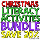 Christmas Literacy Bundle for Third Graders