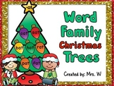 Christmas Literacy Center - CVC Words