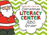 Christmas Literacy Center: ABC Order