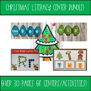 Christmas Literacy Center Bundle!