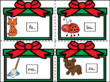 Christmas Literacy Center COMBO  Pack