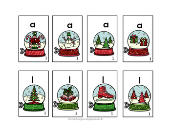 Christmas Literacy Center Games -Holiday themed Mega-pack- Dolch Sight Words
