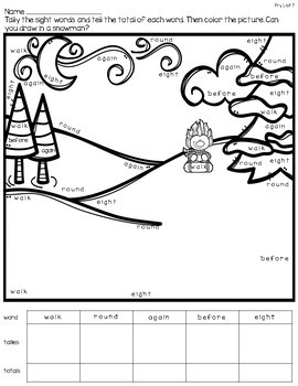 Christmas Literacy Centers for 1st - 3rd Grade