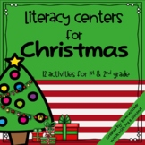 Christmas Literacy Centers for 1st - 2nd Grade