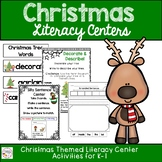 Kindergarten and First Grade Christmas Literacy Centers