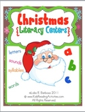 Christmas Literacy Centers (English)