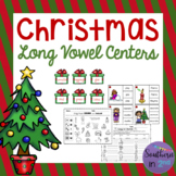 Christmas Literacy Centers: Long Vowels