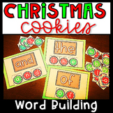 Christmas Literacy Centers- Sight Word Building December