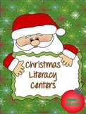 Christmas Literacy Centers aligned to the CCSS