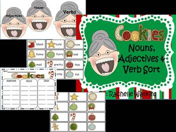 Christmas Literacy Centers for First or Second Grade