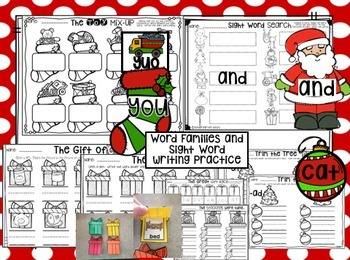 Christmas Literacy Centers {CCSS}