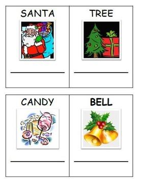 Christmas Literacy Centers for Preschool and Kindergarten