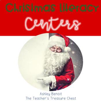 Christmas Literacy Centers for Third Grade