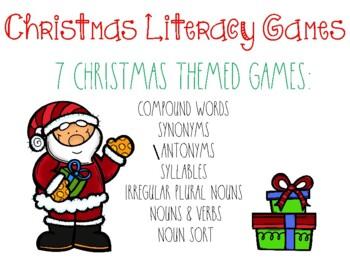 Christmas Literacy Games
