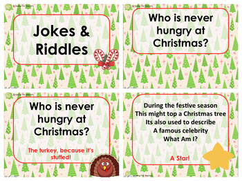 Christmas Literacy Games PowerPoint
