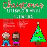 Christmas Literacy & Math Activities