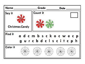 Christmas Literacy, Math & Art Pack for Kindergarten :