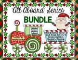 Christmas Literacy & Math Centers Super Pack! 5 Packs! Train Loads Of Fun PreK-1