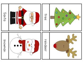 Christmas Literacy & Math Pack