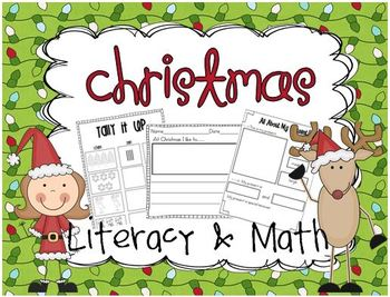 Christmas Literacy & Math {for young learners}