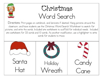 Christmas Literacy Pack