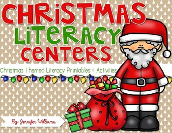 Christmas Literacy Printables and Activities