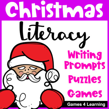 image about Printable Christmas Word Games known as Xmas Literacy Puzzles and Online games