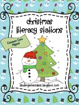Christmas Literacy Stations