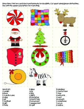 Christmas Literacy Unit - PreK to 2nd Grade Printables