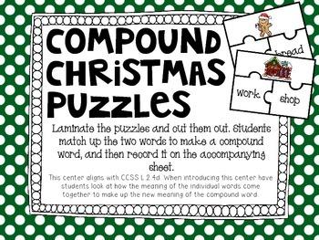 Christmas Literacy/ Word Work Centers