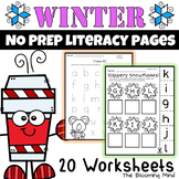 Winter Literacy Worksheets