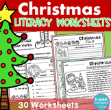Christmas Literacy Worksheets First Grade