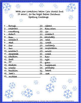 Christmas NO PREP Bundle! (Middle School ELA)