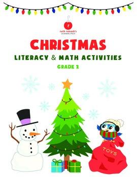 Christmas Literacy and Math - 2nd Grade