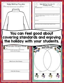 3rd Grade Christmas Activities: 3rd Grade Literacy and Math Christmas Activities