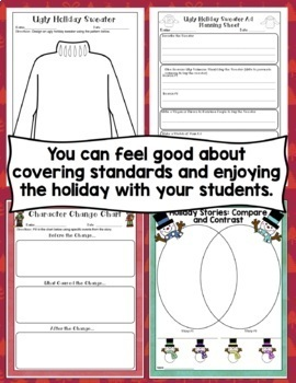 Christmas Activities: 4th Grade