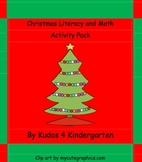 Christmas Literacy and Math Activity Pack